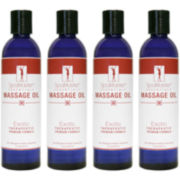 Master® Massage 8-oz. 4-pack Exotic Blend Massage Oil