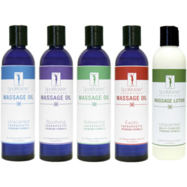 jcpenney.com | Master® Massage Variety Pack of All-Natural Massage Oils