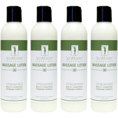 jcpenney.com | Master® Massage 4-Pack 8-oz. Unscented Massage Lotion
