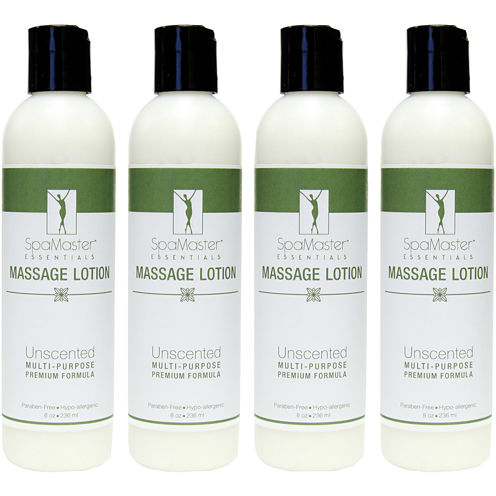Master® Massage 4-Pack 8-oz. Unscented Massage Lotion