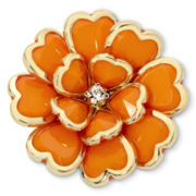Mixit™ Orange Bloomin' Cute Stretch Ring