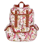 Olsenboye® Floral Cargo Backpack