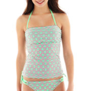 Arizona Striped Polka Dot Bandeaukini Swim Top