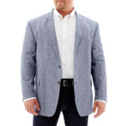 Stafford® Linen-Cotton Sport Coat–Big & Tall