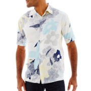 The Havanera Co.® Short-Sleeve Button-Front Shirt