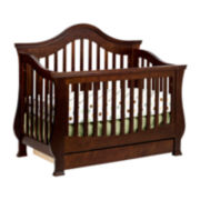 DaVinci Ashbury 4-in-1 Convertible Crib - Espresso