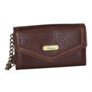 Buxton® Simple Weave Crossbody Wallet