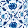 Blue Dpths Ikat Fl