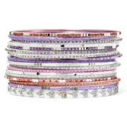 Decree® 18-pc. Pastel Bangle Set