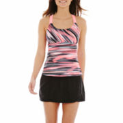 ZeroXposur® Wide-Strap Tankini Swim Top or Skirtini Bottoms
