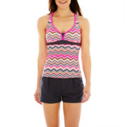 ZeroXposur® Tankini Swim Top or Woven Shorts