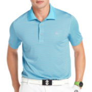 IZOD® Golf Short-Sleeve Feeder Stripe Polo