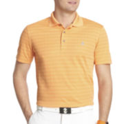 IZOD® Golf Short-Sleeve Jacquard Polo