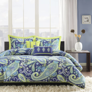 jcpenney.com | Intelligent Design Rachelle Paisley Duvet Cover Set
