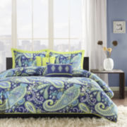 Intelligent Design Rachelle Paisley Duvet Cover Set