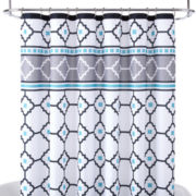 Home Expressions™ Echo Tile Shower Curtain