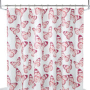 Home Expressions™ Butterfly Shower Curtain