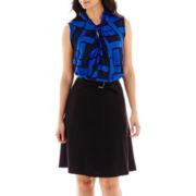 Liz Claiborne® Print Blouse or Belted Soft Skirt