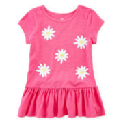 Okie Dokie® Short-Sleeve Tunic Tee - Girls 4-6x
