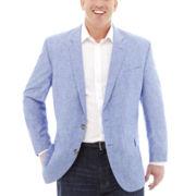 Stafford® Signature Linen-Cotton Sport Coat–Big & Tall