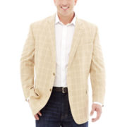 Stafford® Signature Linen-Cotton Sport Coat–Big & Tall