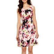 Worthington® Sleeveless Fit And Flare Dress