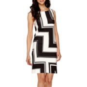 Worthington® Sleeveless Shift Dress