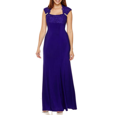jcpenney.com | R&M Richards Lace Formal Gown - Petite