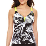 Zeroxposur® Shade Wide-Strap Tankini Swim Top-