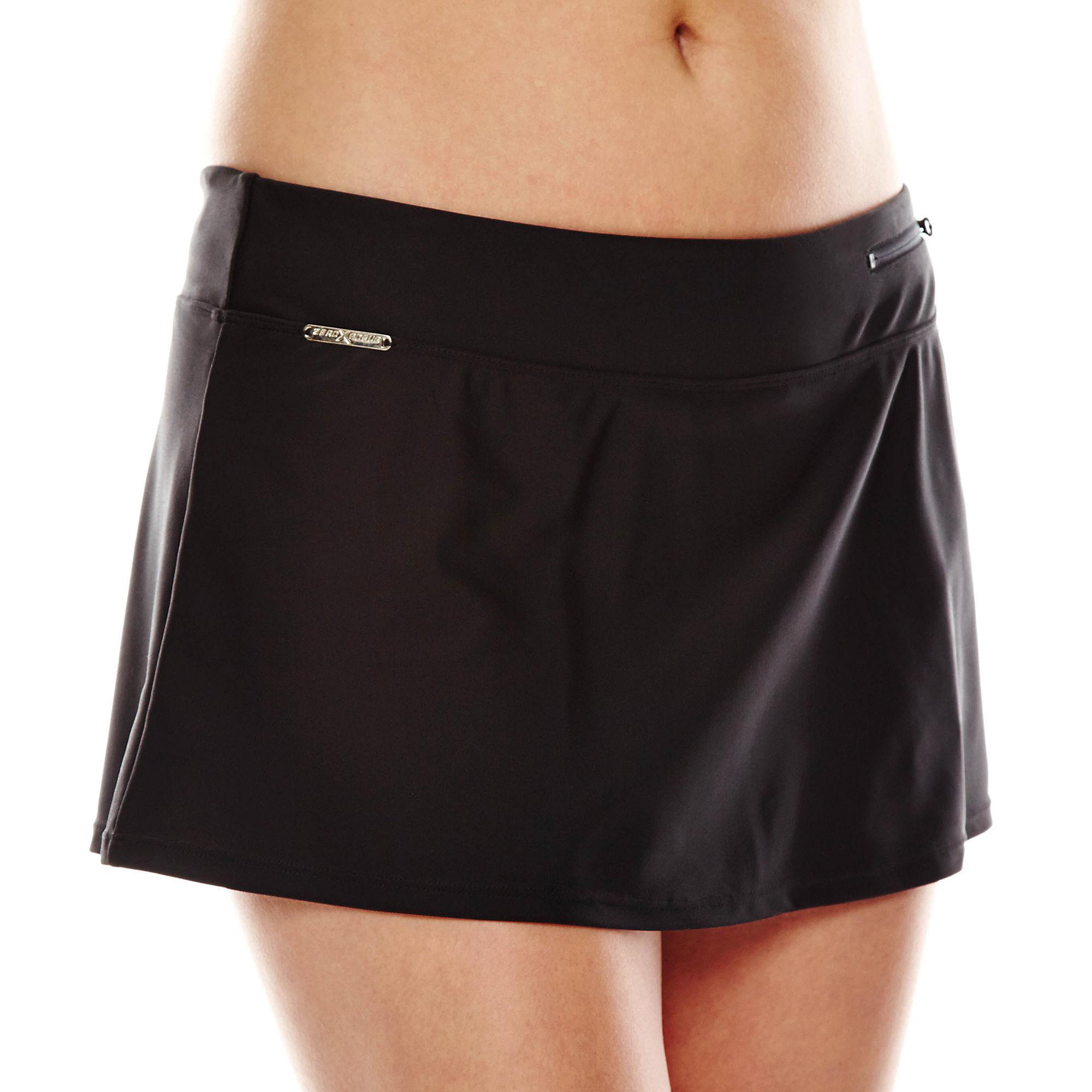 Zeroxposur Sport Skirtini Swim Bottoms plus size,  plus size fashion plus size appare