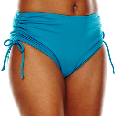 jcpenney.com | Pure Paradise® Adjustable Side Hipster Swim Bottoms