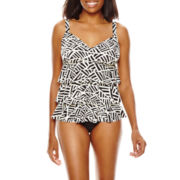 Fit Fix™ Tiered Tankini Swim Top or Basic Swim Briefs