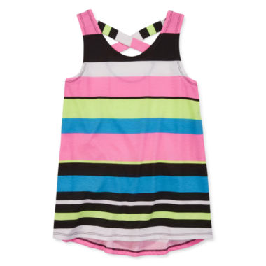 jcpenney.com | Total Girl® Striped Print Tunic Top - Girls 7-16 and Plus