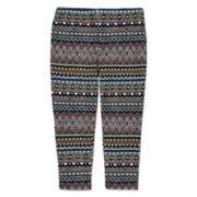 Total Girl® Capri Leggings - Girls 7-16 and Plus