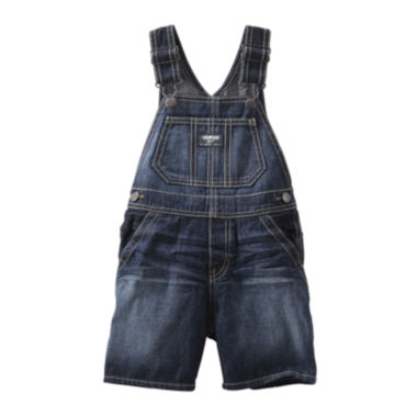 jcpenney.com | OshKosh B'gosh® Denim Shortalls - Baby Boys 3m-24m