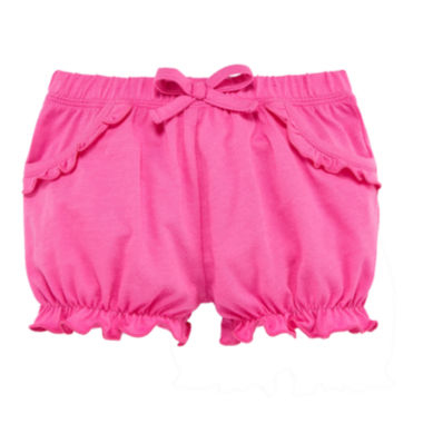 jcpenney.com | Okie Dokie® Pink Bubble Shorts - Baby Girls newborn-24m