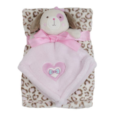 jcpenney.com | Cutie Pie 2-pc. Printed Velboa Blanket with Puppy Plush