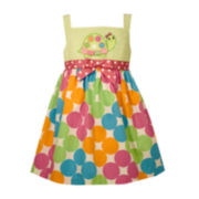 Bonnie Jean® Sleeveless Turtle Sundress - Toddler Girls 2t-4t