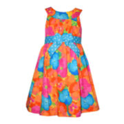 Bonnie Jean® Floral Sundress - Preschool Girls 4-6x