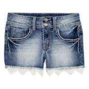 Vanilla Star® Denim Shorts - Girls 7-16