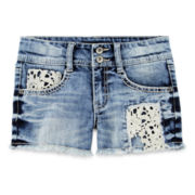 Vanilla Star® Denim Shorts - Girls 7-16