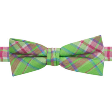 jcpenney.com | IZOD® Michael Plaid Pre-Tied Bow Tie