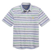 U.S. Polo Assn.® Short-Sleeve Woven Shirt - Boys 8-18