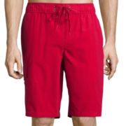 St. John's Bay® Solid Swim Trunks