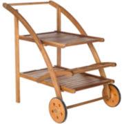 Safavieh Clementine Outdoor Tea Cart