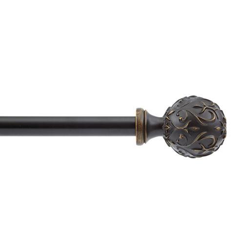 Garden Ball Adjustable Curtain Rod
