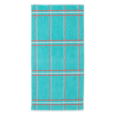 jcpenney.com | Outdoor Oasis™ Plaid Beach Towels