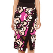 Worthington® Printed Envelope Pencil Skirt