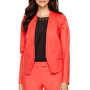 Worthington® Long-Sleeve Peplum Blazer - Tall