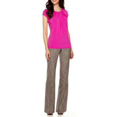 jcpenney.com | Worthington® Twist-Front Blouse or Modern-Fit Pants